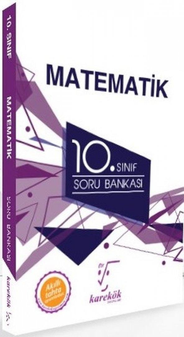 10.Sınıf Matematik Soru Bankası karekök