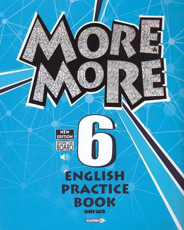 Kurmay ELT 6. Sınıf More More English Practice Book