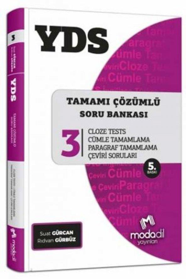 Modadil Yayınları YDS Tamamı Çözümlü Soru Bankası Serisi 3 Cloze
