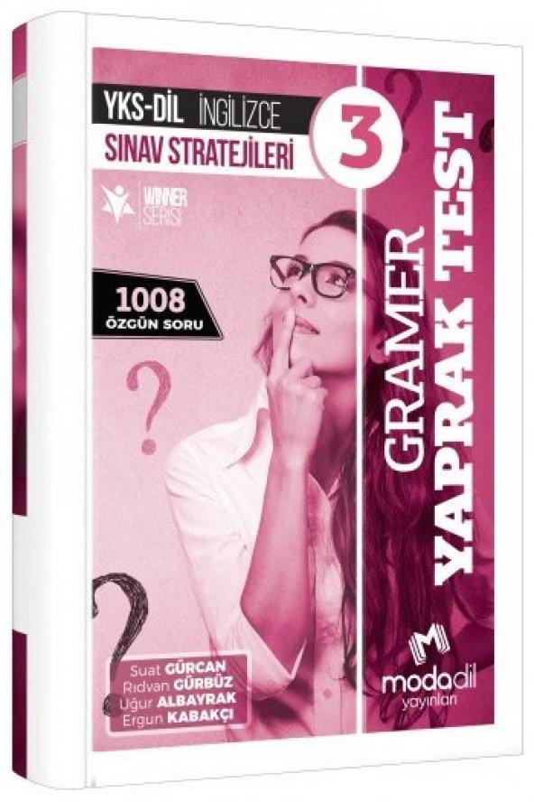 YKS DİL İngilizce Sınav Stratejileri 3 Gramer Yaprak Test Modadil