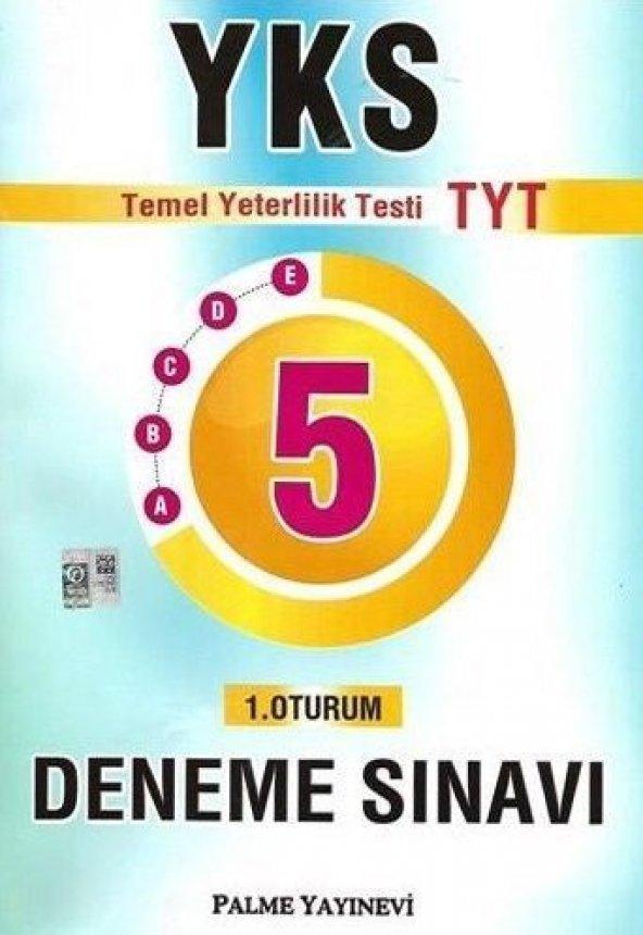 Palme YKS 1.Oturum TYT 5 Deneme Sınavı