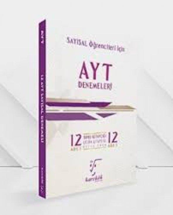 AYT 12 li Denemeleri Sayısal Seti Karekök Yayınları