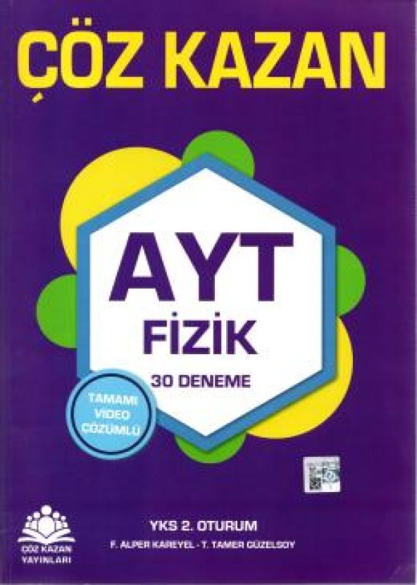Çöz Kazan AYT Fizik 30lu Deneme Sınavı