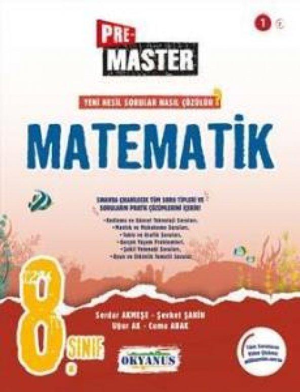 Okyanus 8. Sınıf Pre Master Matematik Soru Bankası Okyanus Yayınl