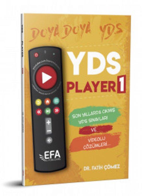Benim Hocam Yayınları (EFA Serisi) YDS Player 1 Son Yıllarda Çıkm