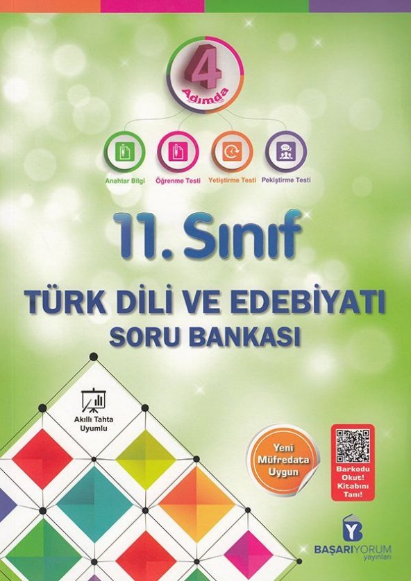 Başarıyorum Yayınları 11. Sınıf Türk Dili ve Edebiyatı Soru Bank