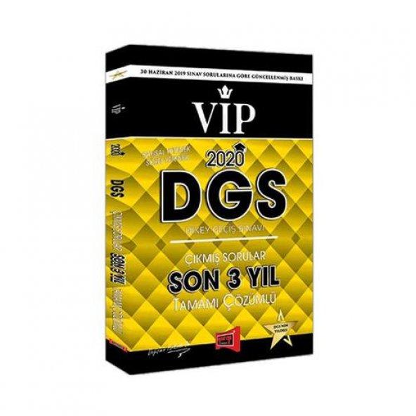 Yargı 2020 DGS VIP Sayısal Sözel Son 3 Yıl Çıkmış Sorular