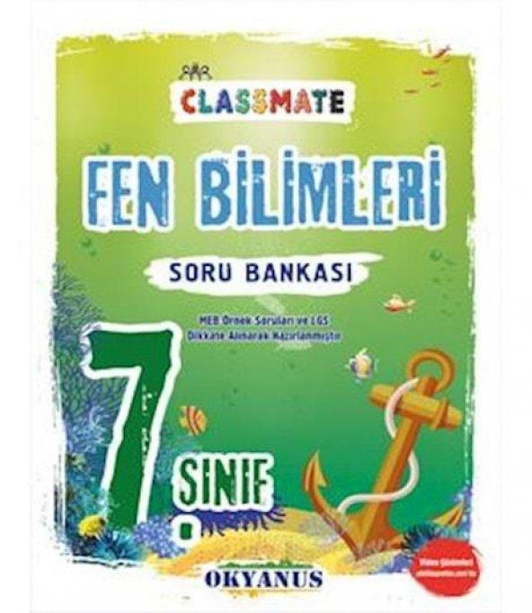 OKYANUS 7.SINIF CLASSMATE FEN BİLİMLERİ SORU BANKASI (YENİ)