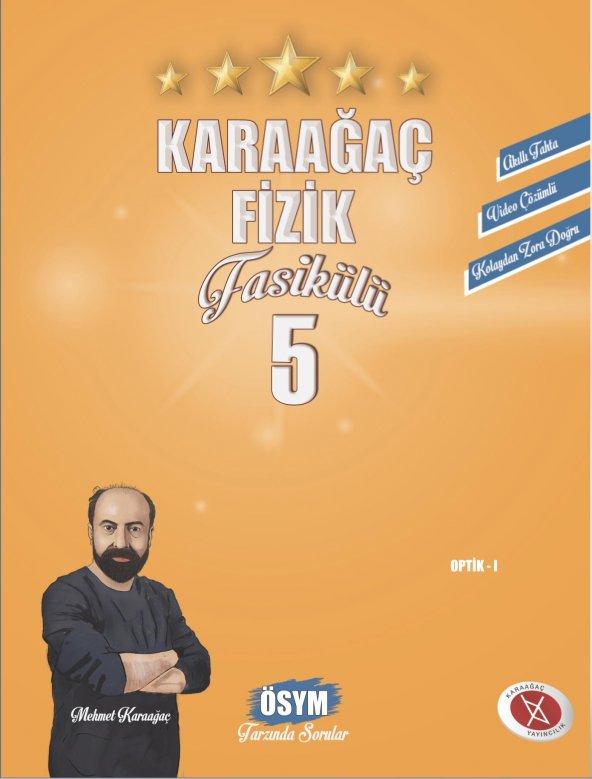 Karaağaç Fizik Fasikülleri-5 Video Çözümlü Karaağaç Yayınları