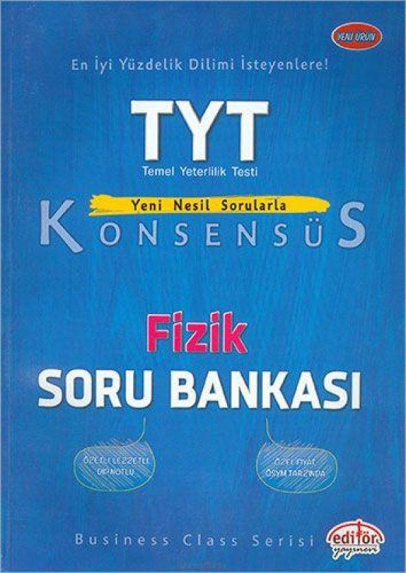 Editör TYT Konsensüs Fizik Soru Bankası