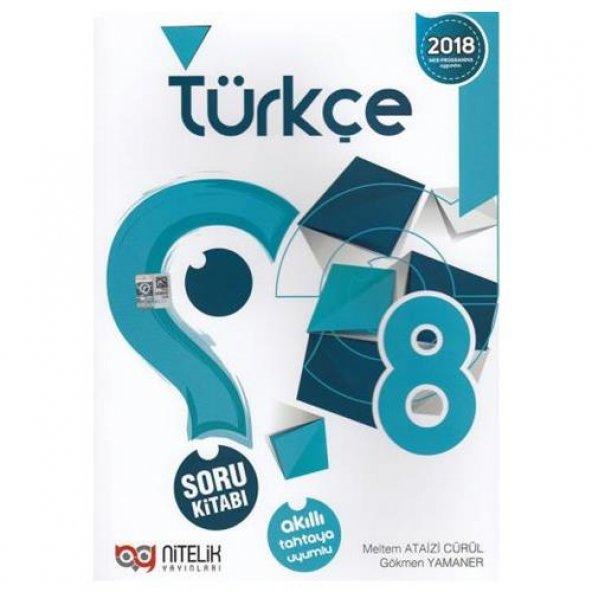 8. Sınıf Türkçe Soru Kitabı Nitelik Yayınları