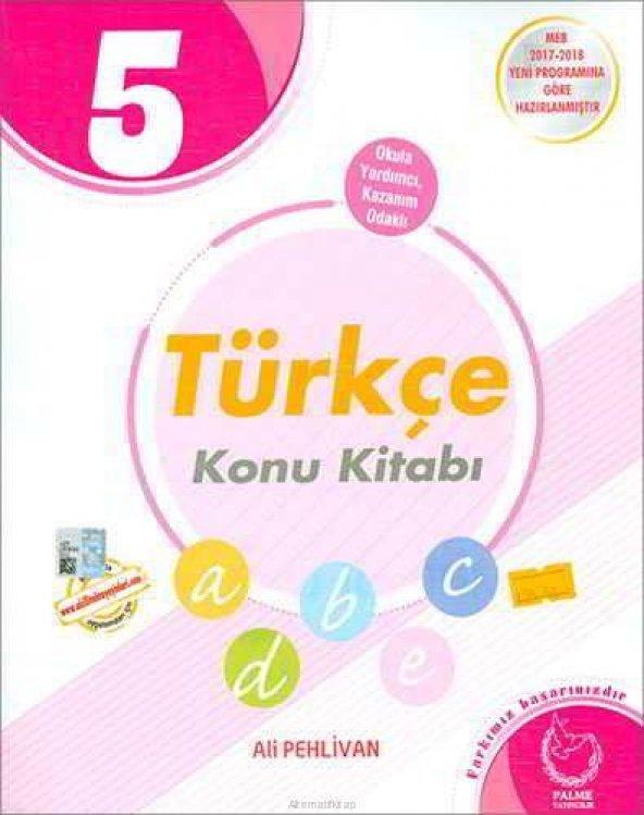 5. Sınıf Türkçe Konu Kitabı Palme Yayıncılık