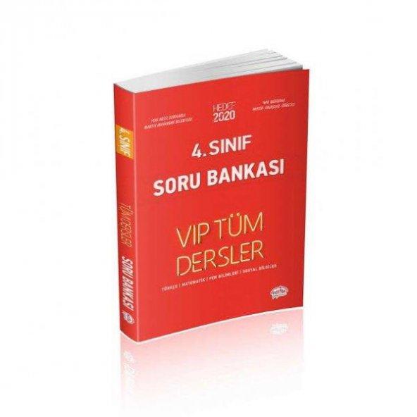 4.Sınıf VIP Tüm Dersler Soru Bankası Editör Yayınları