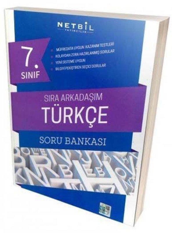 Netbil 7.Sınıf Türkçe Sıra Arkadaşım Soru Bankası