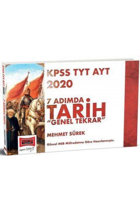 Yargı 2020 KPSS TYT AYT 7 Adımda Tarih Genel Tekrar