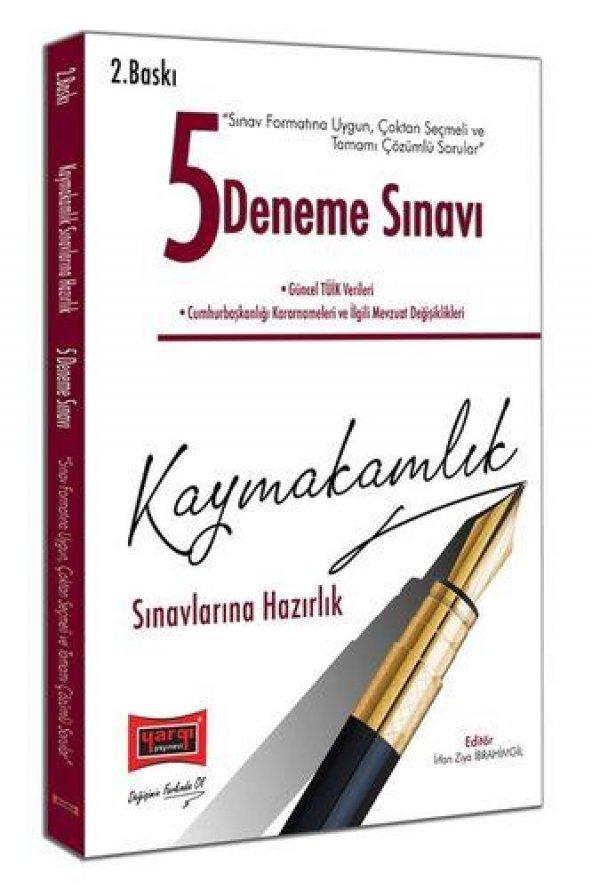 Yargı Yayınları Kaymakamlık Sınavlarına Hazırlık Tamamı Çözümlü 5