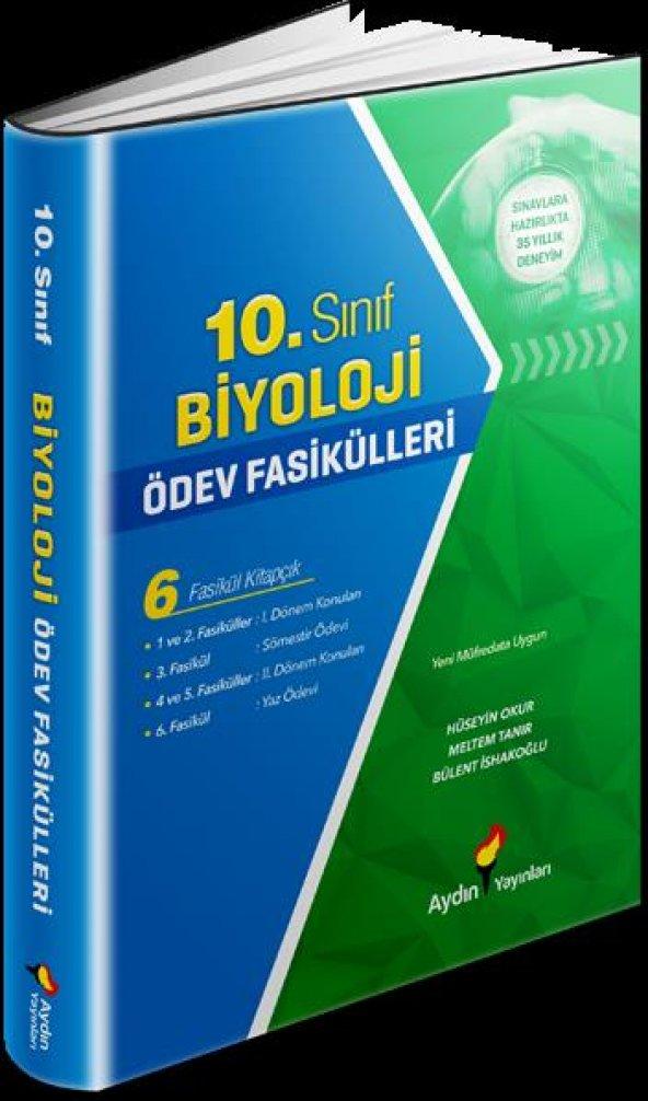 AYDIN 10 BİYOLOJİ ÖDEV FASİKÜLLERİ