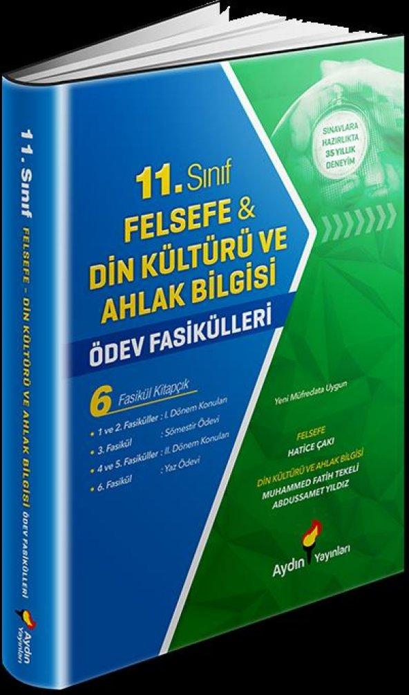 AYDIN Felsefe-Din Kültürü ve Ahlak Bilgisi Ödev Fasikülleri 11
