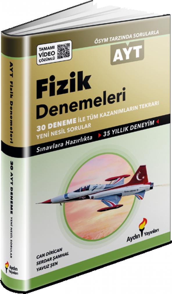 AYDIN AYT FİZİK DENEMELERİ 30 DENEME