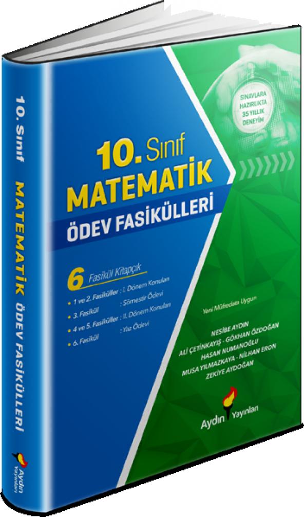 AYDIN 10.SINIF MATEMATİK ÖDEV FASİKÜLLERİ