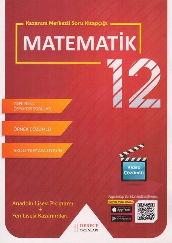 Derece 12.Sınıf Matematik Modüler Set