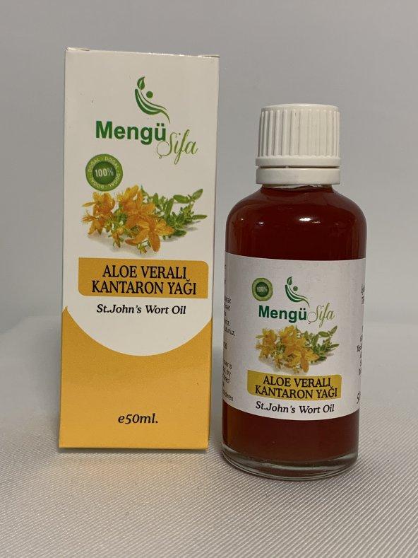 Mengü şifa%100 Aloe veralı Kantaron yağı 50ml