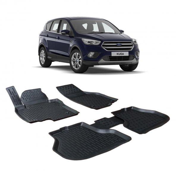 Otom Ford Kuga 3D Havuzlu Paspas 2013-Sonrası