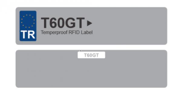 T60GT RFID Araç Etiketi (10 Adet)