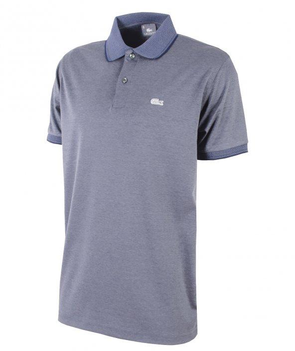 Lacoste Polo Tişört/Merserize Kumaş-Gümüş Logo