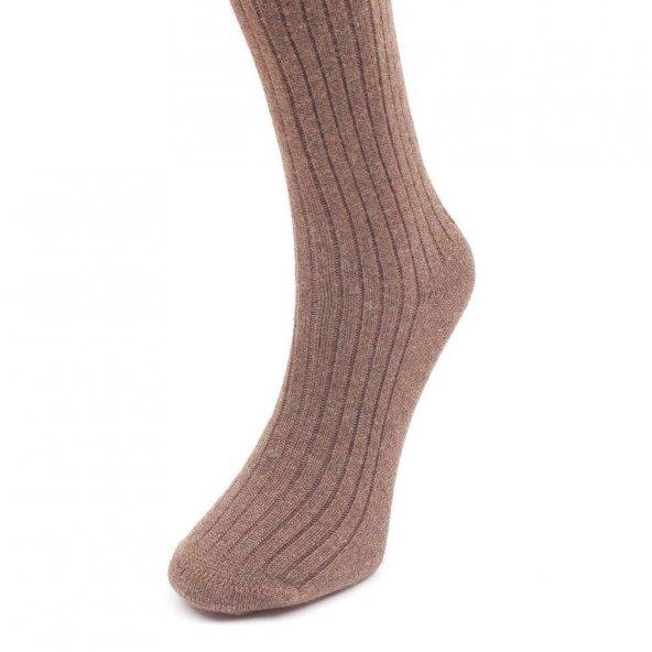 Calze Lusso Erkek Yün Çorap