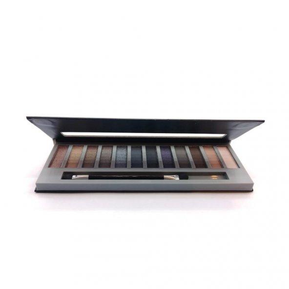 XP Nudes Smoky Far-12 Farklı Ton-Eyeshadow Collection