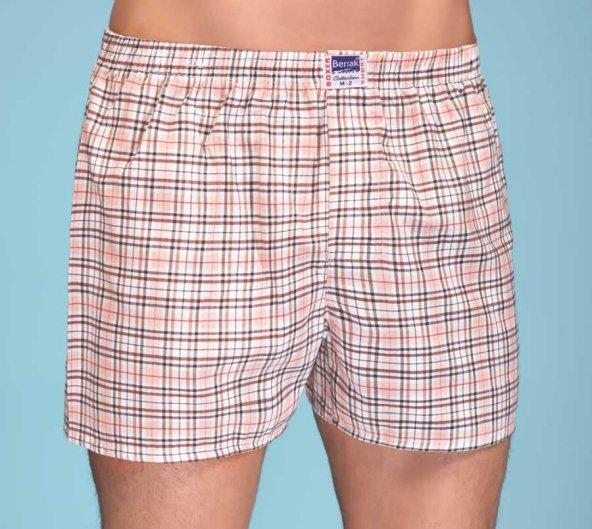 10 Adet Berrak B1052 Poplin Boxer Short