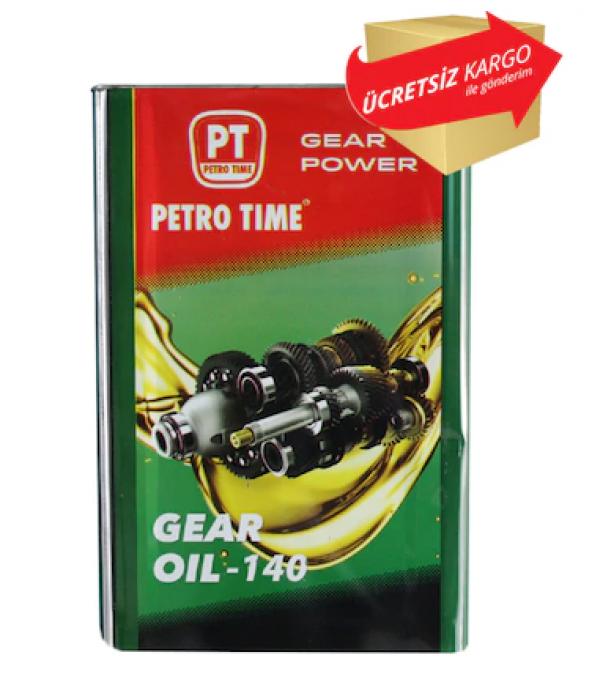 Petro Time Gear Oil 140 No 16 Litre Asansör ve Şanzıman Dişli Yağ