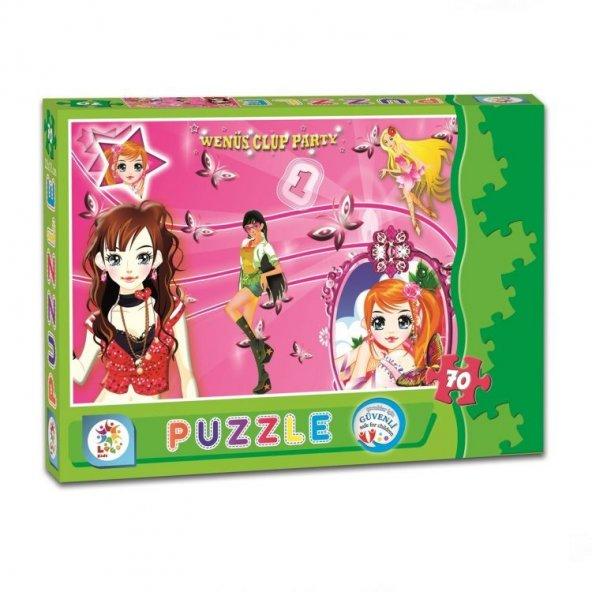 Venüs Kızlar 70 Parça Kutu Puzzle