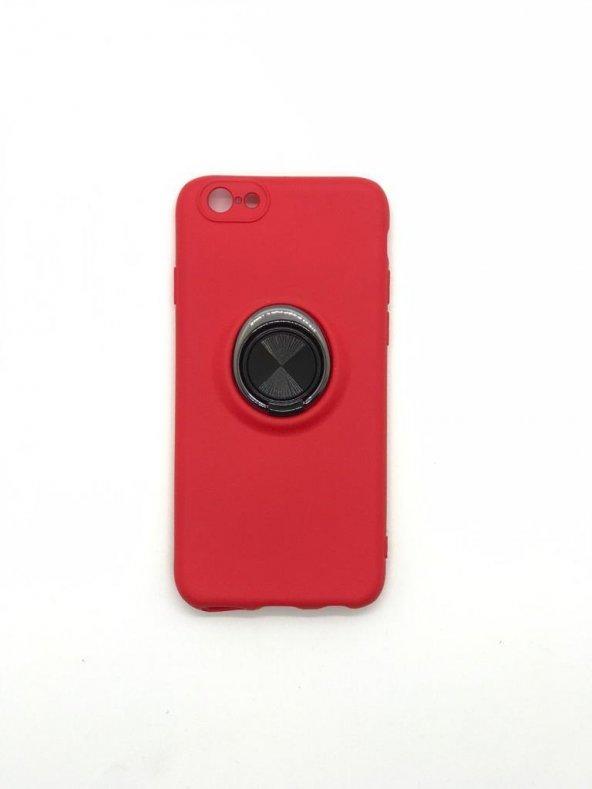 İphone 6 Yüzüklü lüx 360 Kılıf + Kırılmaz Ekran Koruyucu