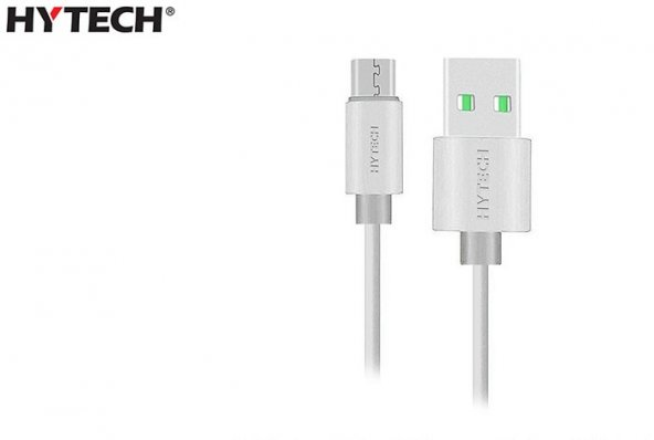Hytech HY-X81 1m 2A Micro Usb Beyaz Şarj Kablosu