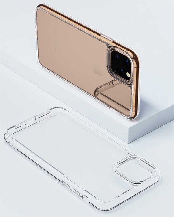 Apple iPhone 11 Pro Max Kılıf Benks Magic Crystal Clear Glass Case