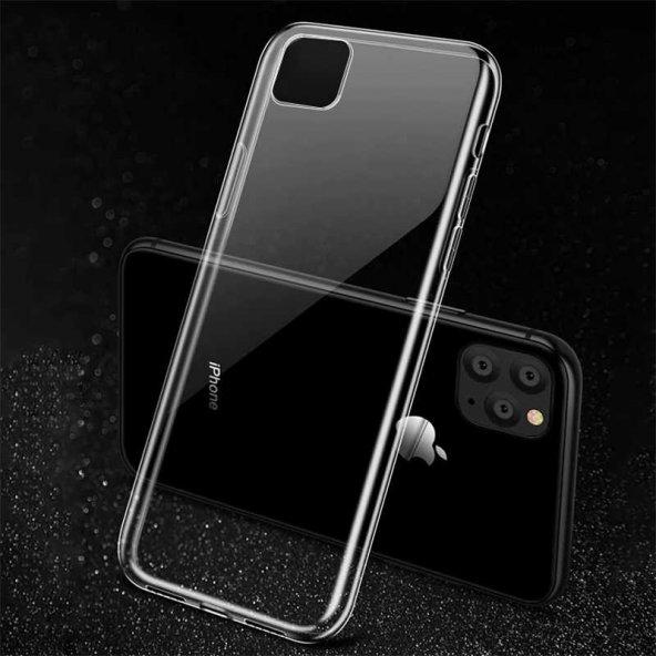 Apple iPhone 11 Pro Max Kılıf Zore Süper Silikon