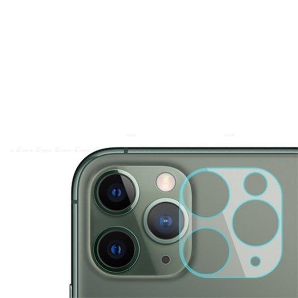 Apple iPhone 11 Pro Max Zore 3D Full Kamera Koruyucu