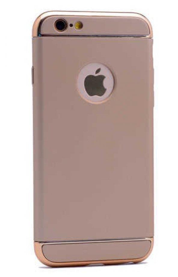 Apple iPhone 6 Kılıf Zore 3 Parçalı Rubber Kapak