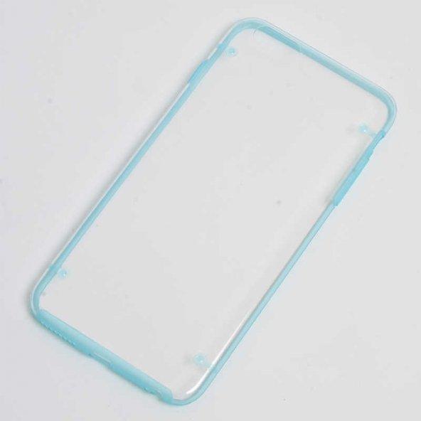 Apple iPhone 6 Plus Kılıf Zore Dört Noktalı Kapak