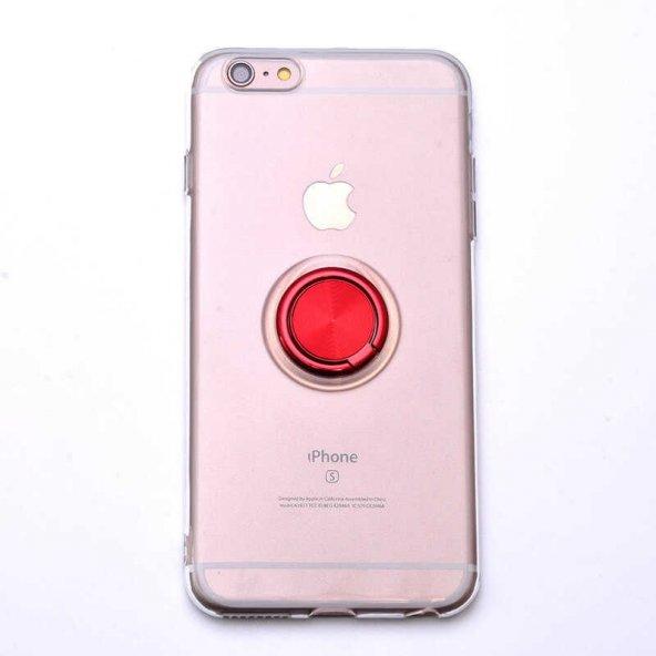 Apple iPhone 6 Plus Kılıf Zore Les Silikon
