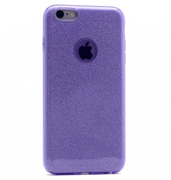 Apple iPhone 6 Plus Kılıf Zore Shining Silikon