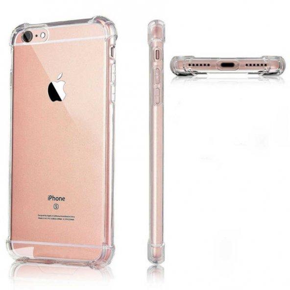 Apple iPhone 7 Kılıf Zore Nitro Anti Shock Silikon DARBEYE DAYANIKLI KILIF