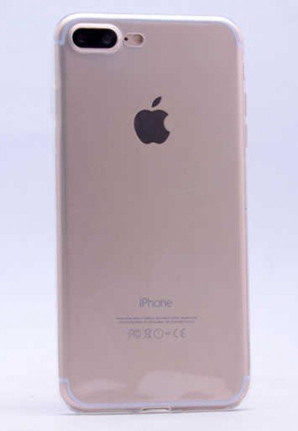 Apple iPhone 7 Plus Kılıf Zore Ultra İnce Silikon Kapak 0.2 mm