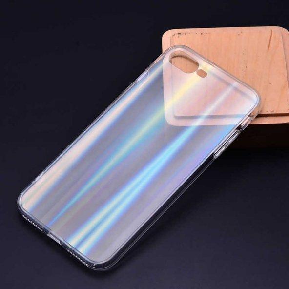 Apple iPhone 8 Plus Kılıf Zore Rainbow Kapak