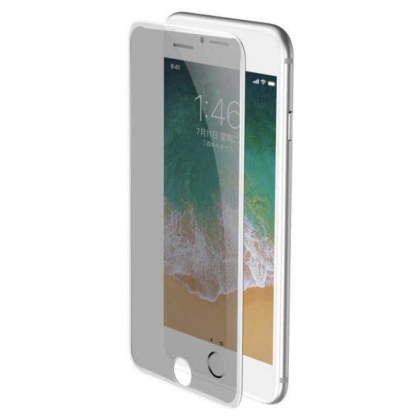 Apple iPhone 8 Zore Anti-Dust Privacy Tempered Ekran Koruyucu