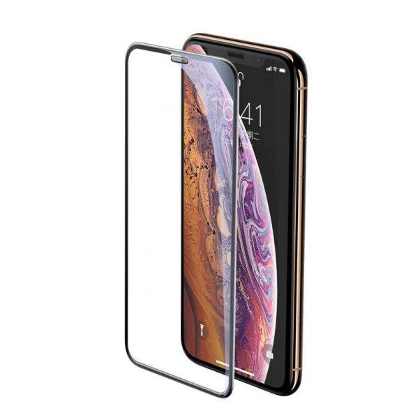 Apple iPhone XS 5.8 Baseus Full-Screen Curved Tempered Glass Screen Protector EKRAN KORUYUCU CAM