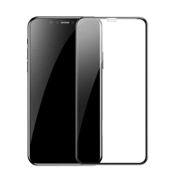 Apple iPhone XS Max 6.5 Baseus 0.2mm All-Screen Arc-Surface Tempered Glass EKRAN KORUYUCU CAM