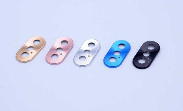 Apple iPhone XS Max 6.5 Zore Metal Kamera Koruyucu